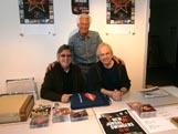 Eigil og Svein på Oslo Platemesse med Roy Rydland