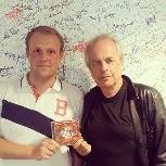 Eigil og Trond Harald Hansen hos Radio Metro