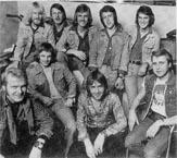 """NJS med Ole """"Elvis"""" Andersen, Trond Granlund, Jan Lauritzen og Øivind """"King Kong"""" Johannessen"""
