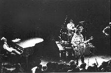 Eigil og John med Chuck Berry og Jim Marsala på Rockefeller 18. juni 1993.