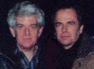 Nick Lowe og Eigil. Foto: Beat 1995